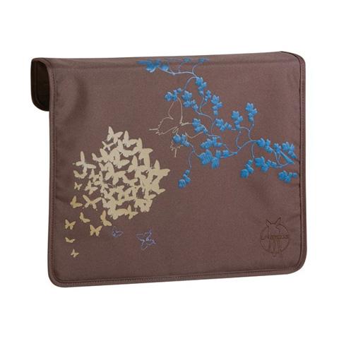 Borse - Front cover di ricambio per borsa Messenger butterfly choco [LFT10611] by Laessig