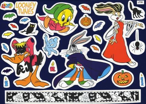 Complementi e decori - Fosforelle - Warner Bros - Midi LT 35 - Looney Tunes Halloween by Crearreda