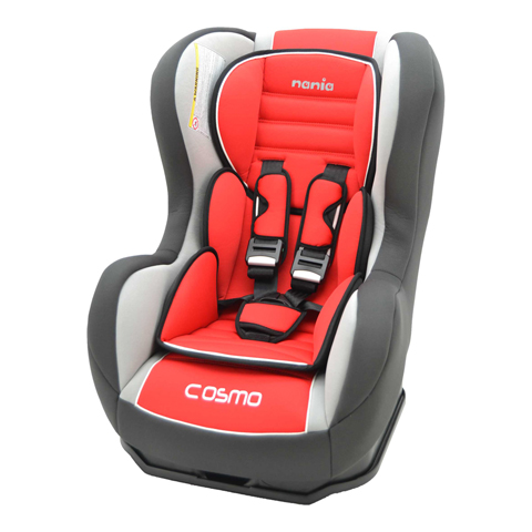 Seggiolini auto Gr.0+/1 [Kg. 0-18] - Seggiolino auto Cosmo SP Luxe Agora Carmin by Nania