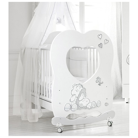 Lettini - Linus by Peanuts Bianco/Argento by Baby Expert