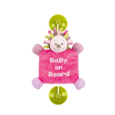 Accessori per il viaggio del bambino - Bebe a Bordo con ventosa - Manon 521284 by Nattou