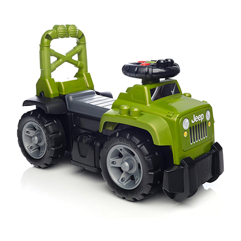 Giocattoli 24+ mesi - Jeep Ride-on Verde [DBL17-0] by Mattel