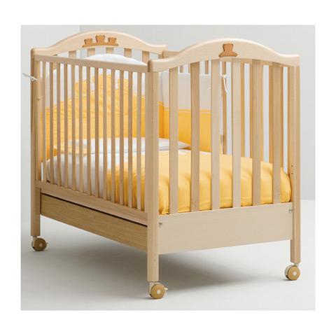 Lettino in legno mibb tender naturale ebay for Lettini in legno per bambini