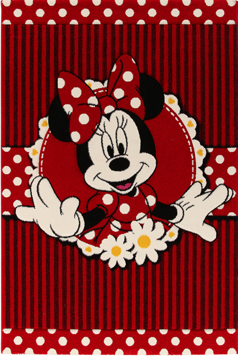 Tappeti per camerette - Minnie Pois cm. 100 x 150 by ABC Italia