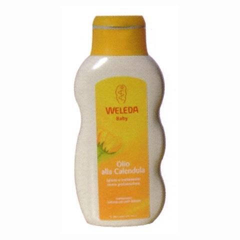 Prodotti igiene personale - Baby olio alla calendula 200 ml. BO - 200 ml. by Weleda