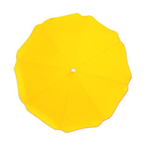 Accessori per carrozzine - Ombrellino parasole tinta unita col 36 giallo oro [1101] by Picci