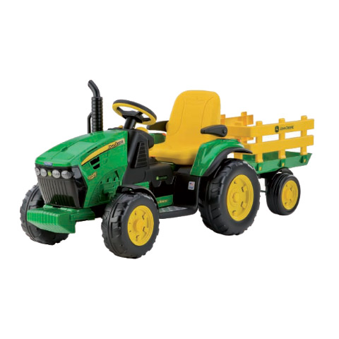 Giocattoli cavalcabili e trainabili - Giocattolo John Deere Ground Force [batterie] IGOR0047 by Peg Perego