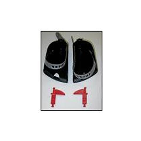 Altri accessori per il neonato - Piedini poggiapiedi con cinturini e perni di regolazione per Body Guar Grigio by Okbaby