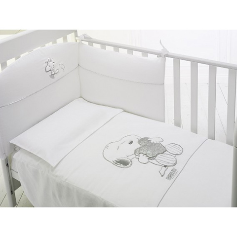 Piumoni - Piumotto Snoopy Bianco by Baby Expert