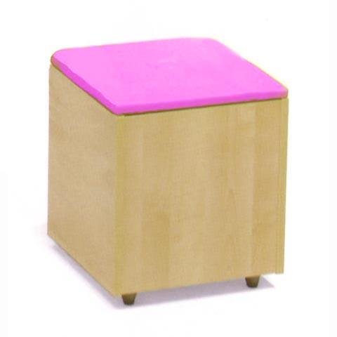 Altri moduli per arredo - Pouf Soft antina rosa [021] by Lazzari