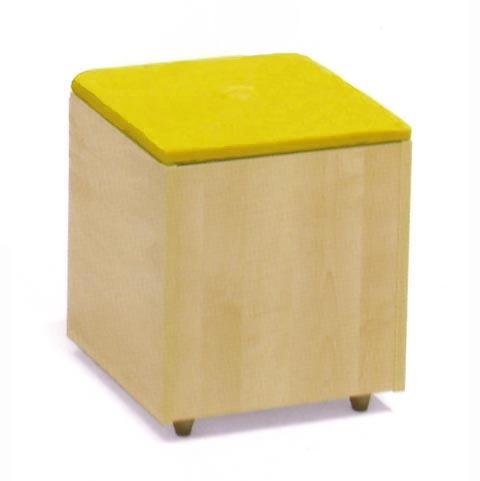 Altri moduli per arredo - Pouf Soft antina gialla [007] by Lazzari