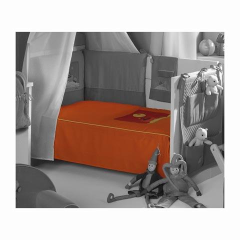 Piumoni - Piumone Piumino per lettino - collezione Clown Naranja arancio by Praia