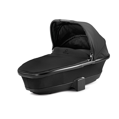 Carrozzine - Navicella Foldable Carrycot Black Devotion by Maxi Cosi - Quinny