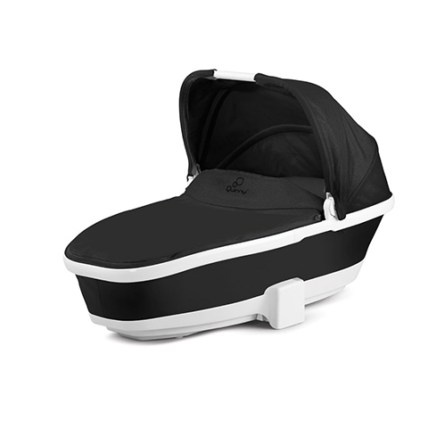 Carrozzine - Navicella Foldable Carrycot Black Irony by Maxi Cosi - Quinny