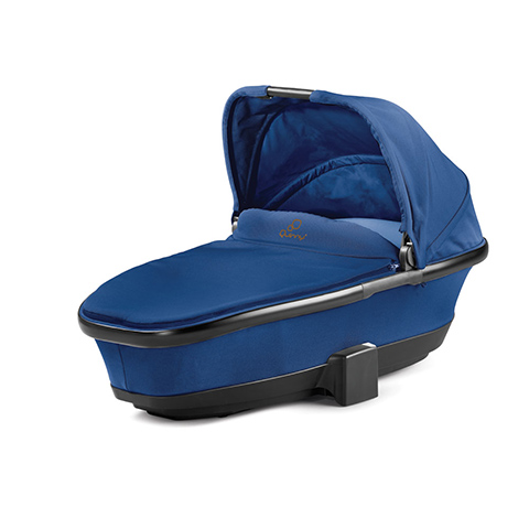 Carrozzine - Navicella Foldable Carrycot Blue Base by Maxi Cosi - Quinny