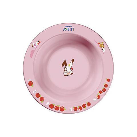 Stoviglie decorate - Piatto fondo piccolo SCF706/01 rosa by Avent