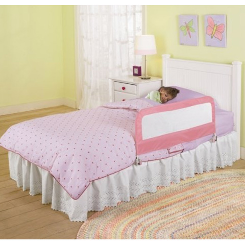 Barriere letto - Spondina letto singola SU12201 rosa by Summer Infant