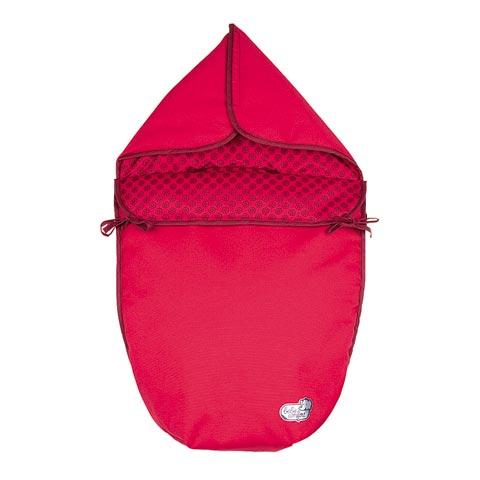 Accessori per il viaggio del bambino - Sacco imbottito gruppo 0+ Optic Framboise by Bébé Confort