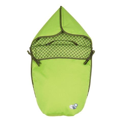 Accessori per il viaggio del bambino - Sacco imbottito gruppo 0+ Optic Pistache by Bébé Confort