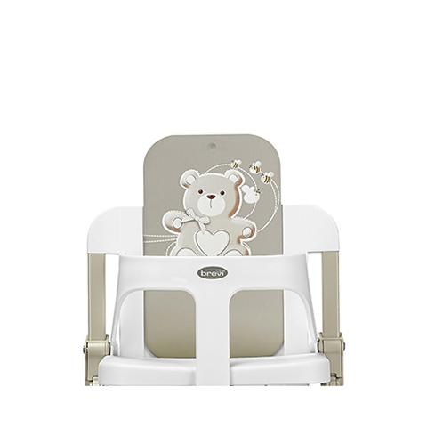 Seggioloni - Slex Evo Versione Speciale Bianco Neve My Little Bear 006 + 002 by Brevi