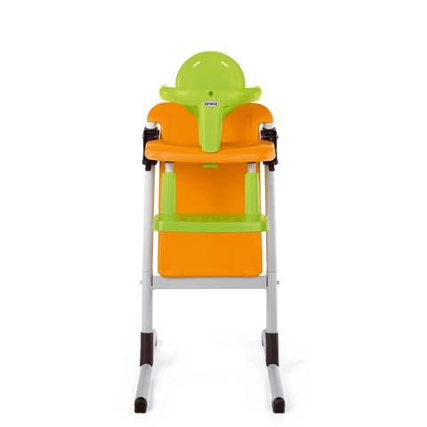 Seggioloni - Seggiolone Slex sedia pappa arancio 039 by Brevi