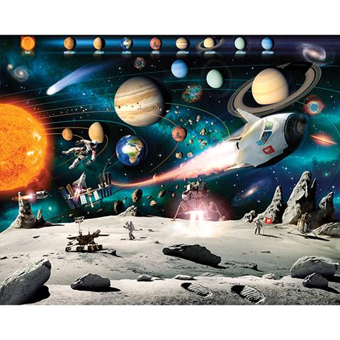 Complementi e decori - Avventura nello spazio - poster murale 12 pannelli SPACE ADVENTURE [41837] by Walltastic