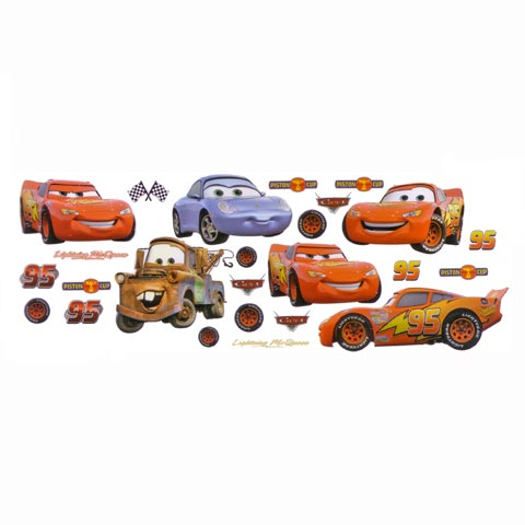 Complementi e decori - Superdecò - striscia DE 40263 - Cars by Decofun