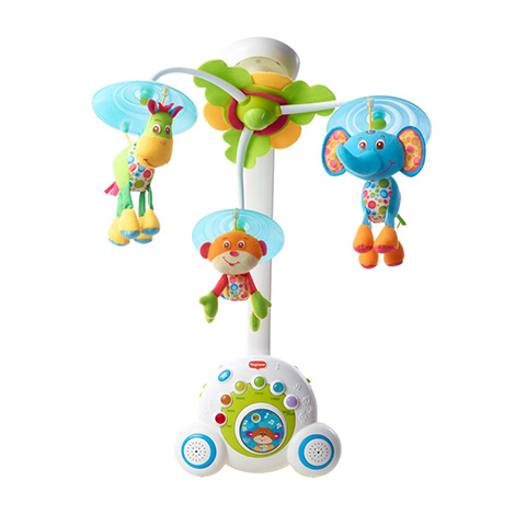 Giocattoli 0+ mesi - Giostrina Soothe and Groove Mobile 33313024 - Azzurro by Tiny Love