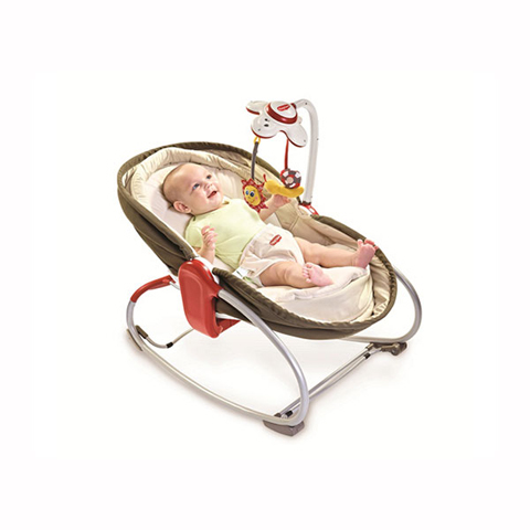 Culle complete - 3 in 1 Rocker Napper Culla-Sdraietta TL00484 grey con capote by Tiny Love