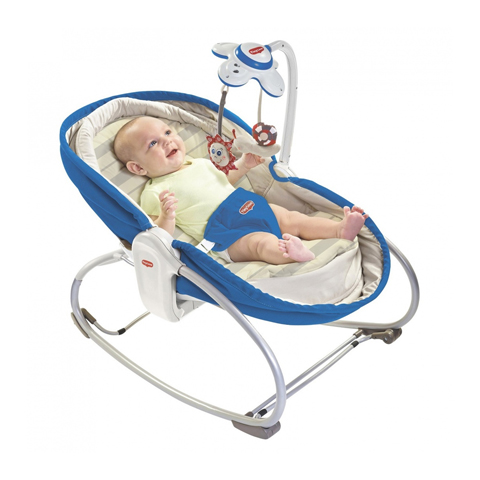 Culle complete - 3 in 1 Rocker Napper Culla-Sdraietta 22218012 blue by Tiny Love