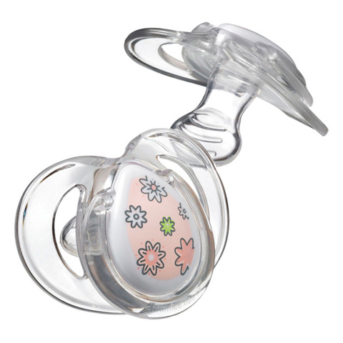 Biberon e succhiotti - 2 Succhietti Pure - Closer to Nature  3-9 mesi - rosa [43320285 - 43320265]  by Tommee Tippee