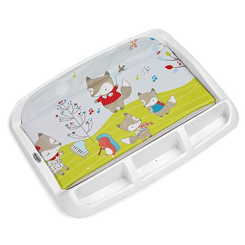 Accessori per l'igiene del bambino - Piano fasciatoio rigido Tablet 556 Fox Fantasy by Brevi