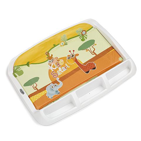 Accessori per l'igiene del bambino - Piano fasciatoio rigido Tablet 557 Safary Kids by Brevi