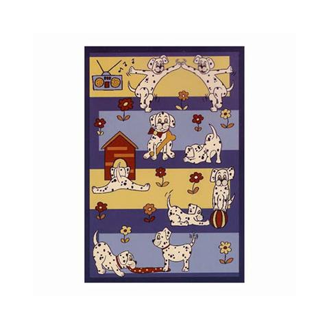 Tappeti per camerette - Tappeto per cameretta Bau bau a 4 piani cm. 133 x 195 [kids32517] by Sitap