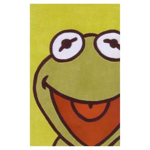 Tappeti per camerette - Tappeto per cameretta La vita è più facile se si è verdi... cm. 168 x 115 [wd330] by ABC Italia