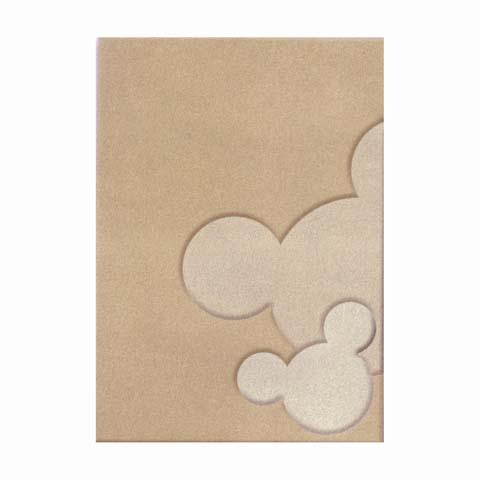 Tappeti per camerette - Tappeto per cameretta Mickey forever... cm. 115 x 168 - beige [WD395] by ABC Italia