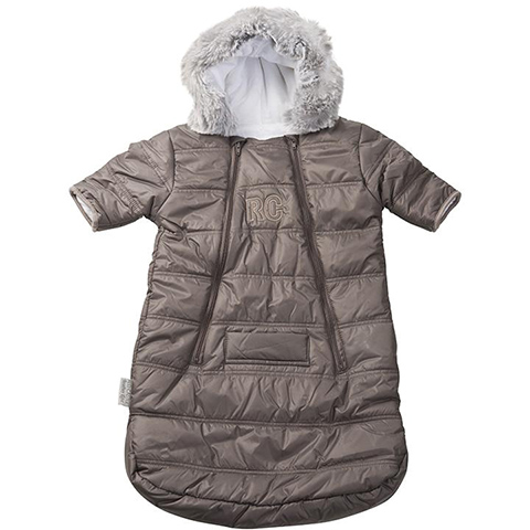 Abbigliamento e idee regalo - Sacco ovetto/carrozzina Combi Tro�ka - Feather Light Taupe by Red Castle