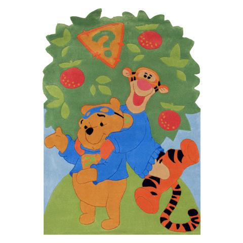 Tappeti per camerette - Tappeto per cameretta Allegri sotto l albero cm. 168 x 115 [wdW 504] by ABC Italia