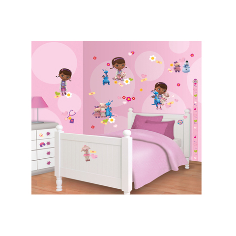 Stickers kit for kids bedroom disney doc mcstuffins 41516 - Stickers x camerette ...