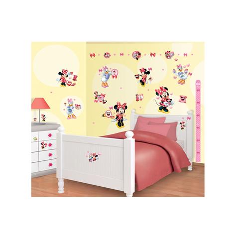 Complementi e decori - Kit adesivi decorativi - Minnie e Paperina Disney Minnie Mouse [41431] by Walltastic