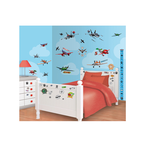 Complementi e decori - Kit adesivi decorativi - Disney Planes Disney Planes [41493] by Walltastic