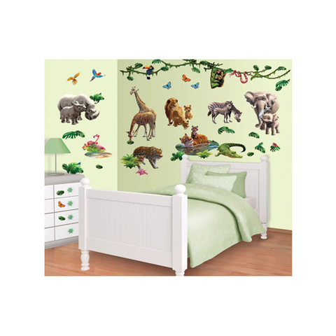 Complementi e decori - Kit adesivi decorativi - Avventure nella Giungla Jungle Adventure [41080] by Walltastic