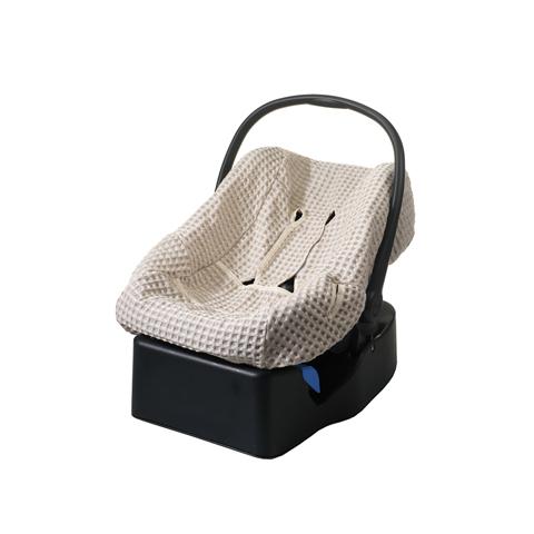 Accessori per il viaggio del bambino - Rivestimento per ovetto in lino e cotone 9003 by Willy e Co