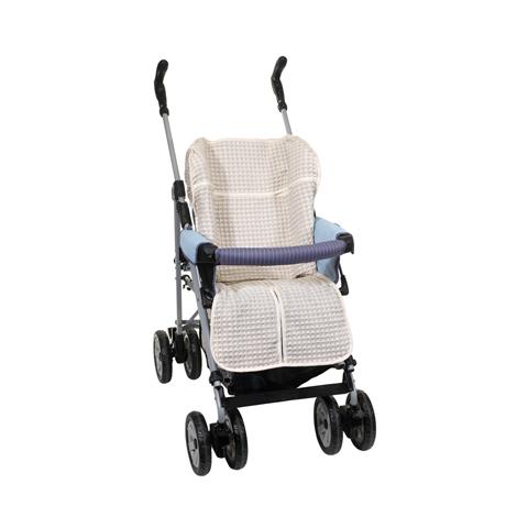 Accessori per il passeggino - Rivestimento in lino e cotone per passeggino 9001 by Willy e Co