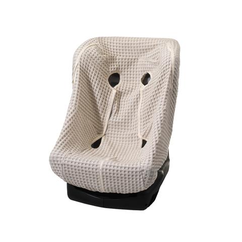 Accessori per il viaggio del bambino - Rivestimento  in lino e cotone per seggiolino auto maxi 9005 by Willy e Co