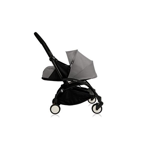 Passeggini - YoYo Plus 0+ mesi Grey - struttura nera by Babyzen