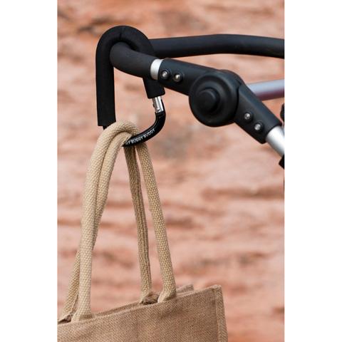 Accessori per carrozzine - Gancio universale per passeggino Nero [A447] by My Buggy Buddy