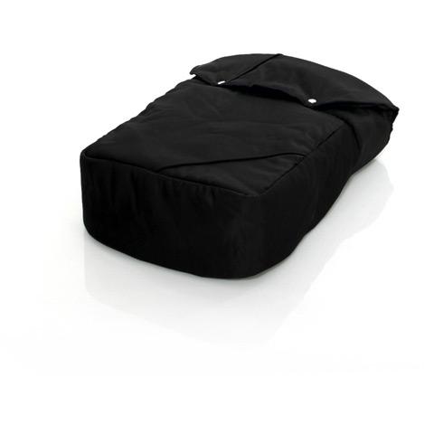Accessori per il passeggino - Coprigambe DeLuxe Black by ABC Design