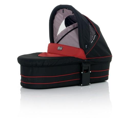 Carrozzine - Navicella port-enfant per Zoom Cherry-Black by ABC Design