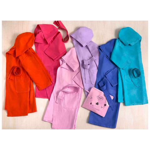 Abbigliamento e idee regalo - Accappatoio in microfibra 008 arancio - M - statura cm. 98/104 by Somma